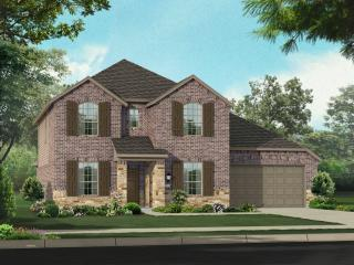 Plan Eastbourne in Highlands at Mayfield Ranch 60s, Round Rock, TX