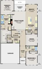 Devon Plan in Blakeley - Signature Collection, Cary, NC