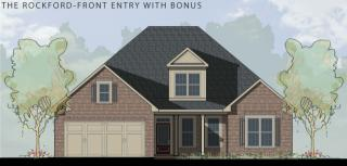 The Rockford Front Entry with Bonus Plan in Laurenwood, Madison, AL