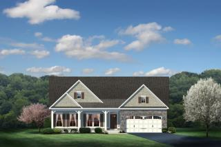 Carolina Place Plan in The Glens at Ballantrae, Dublin, OH