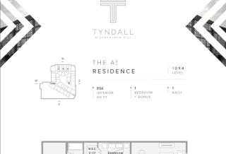 A3 Plan in Tyndall at Robertson Hill, Austin, TX