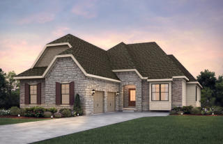 Monaco Plan in Heritage at Spring Mill, Carmel, IN