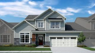 Baker Plan in Blakeley - Signature Collection, Cary, NC