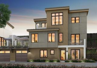 Unit 1 Plan in Six by Lenox, Lafayette, CA