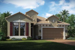 Everett Plan in K. Hovnanian's Four Seasons at Parkland, Parkland, FL