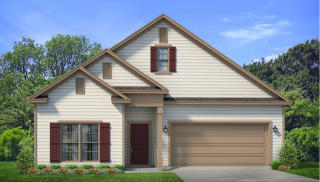 The Dover Plan in Bellaton by Freedom Homes, Daphne, AL