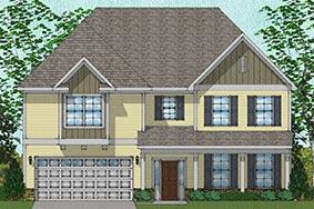 Vanguard - Yates Plan in Poplar Creek Village, Knightdale, NC