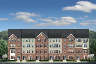 Picasso (4A) Plan in Discovery Square 2-Level Condos, Oak Hill, VA