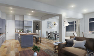 Penthouse Plan in Skyview, Oakland, CA