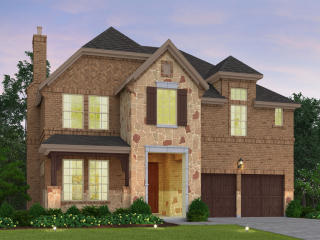 The Beech Plan in Stonehaven at The Tribute - The Chalets, The Colony, TX