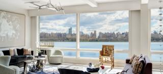 One Bedroom & Den - 998 Sq Ft Plan in The Glass House, Edgewater, NJ