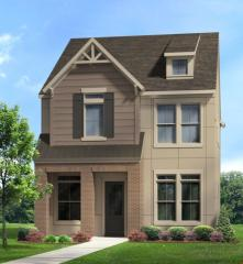 New Haven Plan in Parkside at Trinity Green - Cottages, Dallas, TX