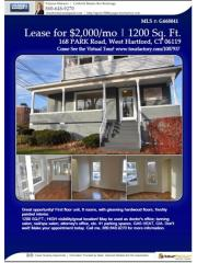 168 Park Road, West Hartford CT