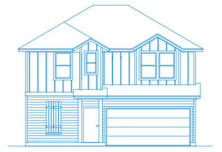 Bradford Plan in Arbor Ridge, Austin TX