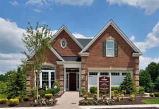 Bornquist Plan in 55+ Active Adult at The Courtyards at Waverly Woods, Marriottsville MD