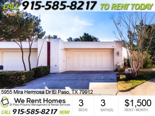 5955 Mira Hermosa Drive, El Paso TX