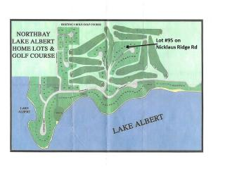 Lot 95 North Bay Addition Nicklaus Ridge Road Lake Albert, Arlington SD