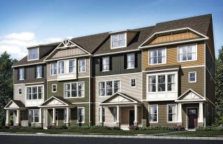 New Brighton Townhomes-Freedom Series by Pulte Homes
