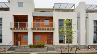 Mueller Courtyard Row Houses by Standard Pacific Homes
