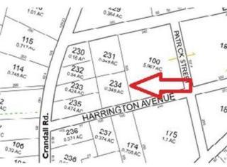 Harrington Avenue L 24, Tiverton RI