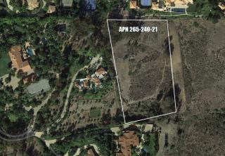 Lot 21 Rancho Cielo, Rancho Santa Fe CA