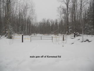 Kornstead Road, Ashland WI