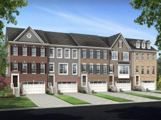 Brick Yard Station 24' Townhomes by Ryland Homes