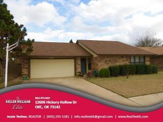 12600 Hickory Hollow Drive, Oklahoma City OK