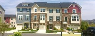 Creekside Village 1 Car Garage Townhomes by Ryan Homes