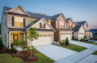 The Townes at Brier Creek Crossings by Pulte Homes