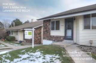 1047 South Miller Way, Lakewood CO