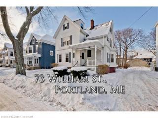73 William Street, Portland ME