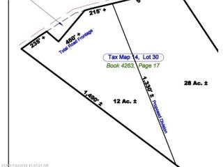 Lot 30 B Killock Pond Road, Hollis Center ME