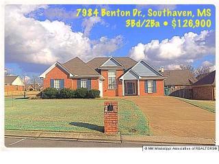 7984 Benton Drive, Southaven MS