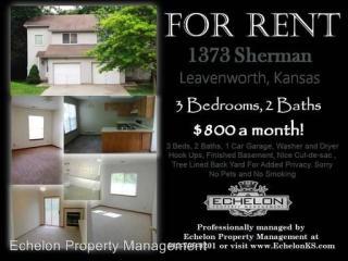 1373-1375 Sherman Duplex, Leavenworth, KS 66048