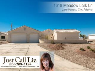 1618 Meadow Lark Lane, Lake Havasu City AZ