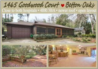 1465 Goodwood Court, Tallahassee FL