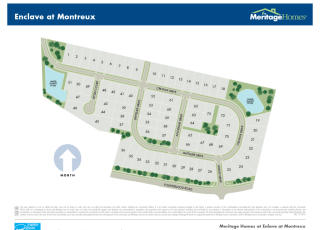 Enclave at Montreux by Meritage Homes