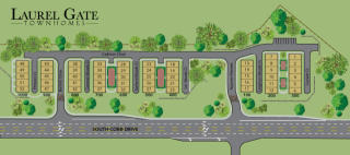 Laurel Gate Townhomes by BHHS GA Properties New Homes