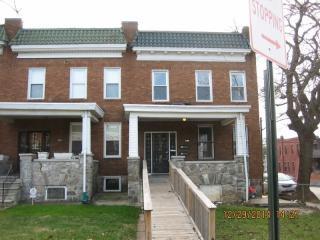 2435 W Lafayette Ave, Baltimore, MD 21216