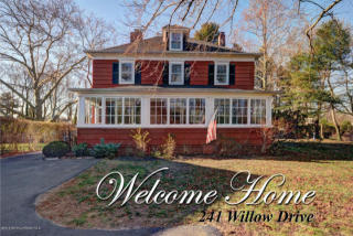 241 Willow Drive, Little Silver NJ