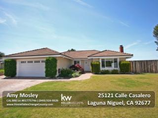 25121 Calle Casalero, Laguna Niguel CA