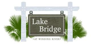 Lake Bridge at Winding River by Lamar Smith Homes
