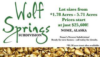 L3 B1 Wolf Spgs, Nome AK