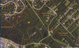 40 Acres At Tyler Road The Woodlands, Stroudsburg PA