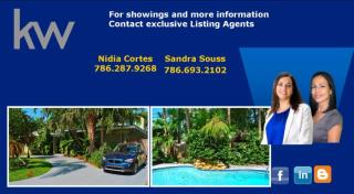 7610 Center Bay Drive, North Bay Village FL
