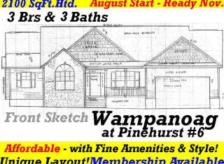 15 Wampanoag Lane, Pinehurst NC