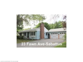 23 Fawn Avenue, Sabattus ME