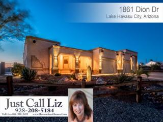 1861 Dion Drive, Lake Havasu City AZ