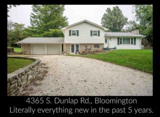 4365 South Dunlap Road, Bloomington IN